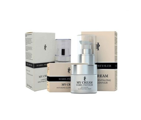 My Cream Isabel Preysler pack soro 30ml + creme anti idade 60ml + contorno de olhos 20ml