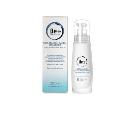 Be+ Moisturize Emulsion faciale légère et durable SPF20+ 50ml