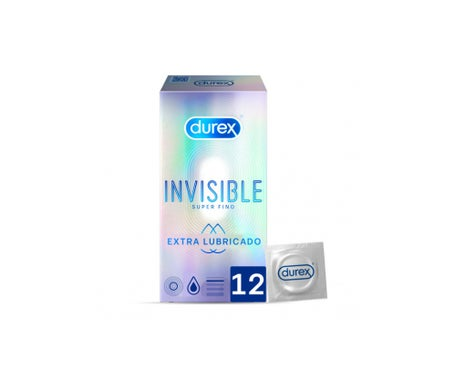 Durex® Invisible extra fine extra lubricated 12pcs