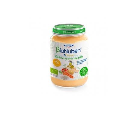 Bionuben Ecopure Verduras Y Arroz Con Pollo 250 G