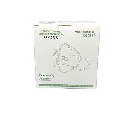 Kadi-Kindheitsschutzmaske FFP2 25 Stück