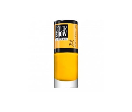 Maybelline Color Show Nail Lacquer 749 Electric Yellow