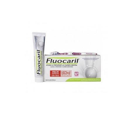 Fluocaril™ Whitener 125ml+75ml + GESCHENK Pinsel 1 Stück