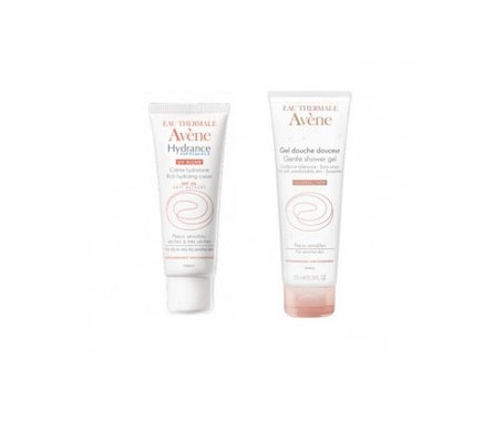 Avène Hydrance Optimale enriquecida 40ml + shower gel suavidad 100ml