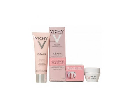 Vichy Idealia Sorbet Gel-cream Mixed Skin and Oily 50ml + Gift