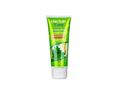 Herbal Time champú fortalecedor de uso diario con 3 aceites y 7 hierbas 250ml