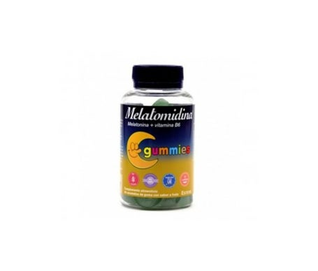 Melatomidine Gummies Mélatonine + Vitamine B6 50 Bonbons