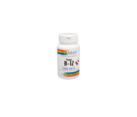 Solaray Vit B12 2000 MCG 90comp