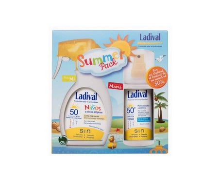 Ladival Summer Pack Bambini Spray 200ml +Sensibile Spray pelle