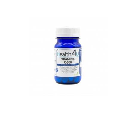 H4u Vitamin C-500 700mg 30 Kapseln