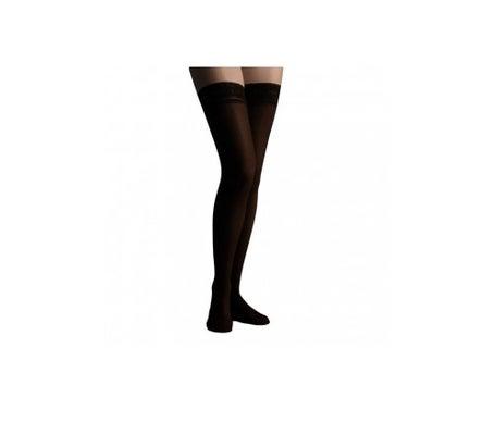 Farmalastic long stocking lace (A-F) normal compression T-reina plus black 1 pc