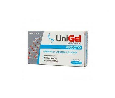 Apotex Unigel Procto supositorios 5uds