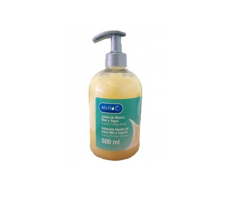 Alvita hand soap honey and yogurt 500ml