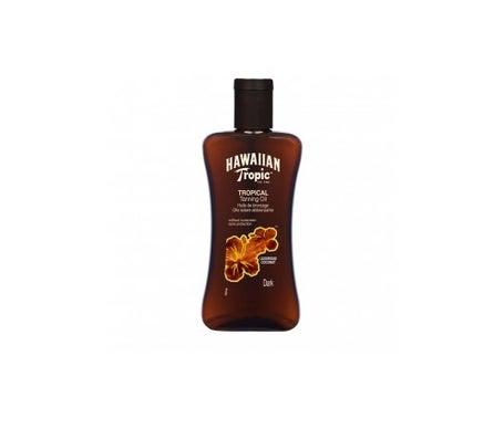 Hawaiianisches Tropisches Tropisches Tropisches Bräunungsöl Dunkel 200ml