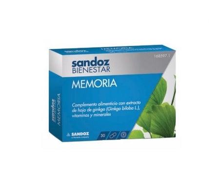 Sandoz Bienestar Memoria 30cáps