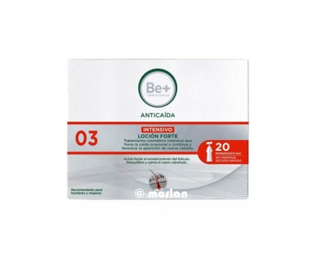 Be+ Anticaida Locion Forte Ampulle 20 Stk