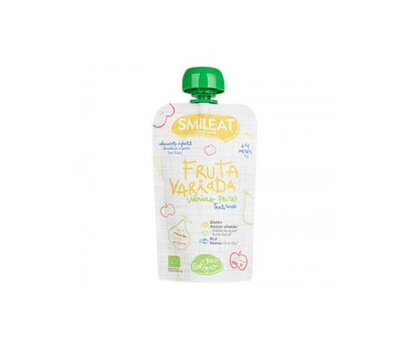 Smileat Pouch Organic Varied Fruits
