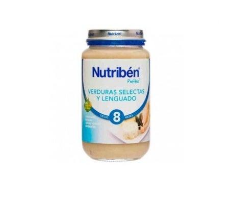 Nutribén™ legumes selecionados e linguado 250g