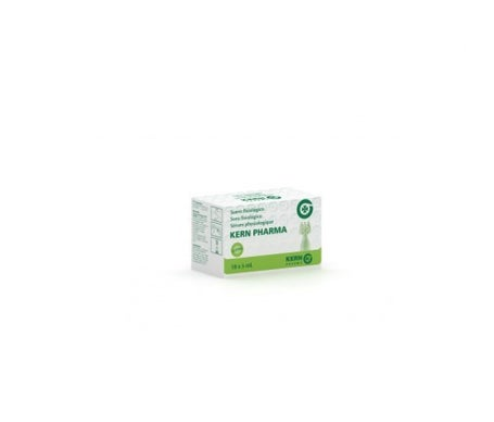 Solução salina fisiológica estéril Kern Pharma 5ml X 18uds