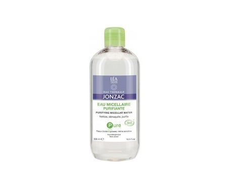 Jonzac Pure Micellar Purifying Water for Mixed and Oily Skin 500m