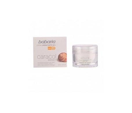 Babaria Escargot Crème hydratante pour le visage Spf20 50ml
