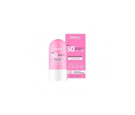 BIMAIO Facial Sunscreen with Color SPF50+ 50ml