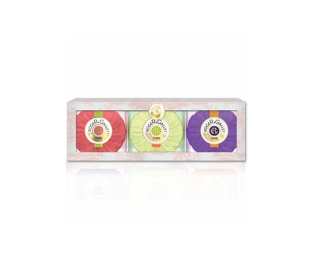 Roger & Gallet Box 3 soaps 100g, Fig Flower, Orange Wood, Osmanthus Flower