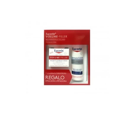 Eucerin ™ Volume Filler pele mista normal 50ml + emulsão de limpeza GIFT 200ml
