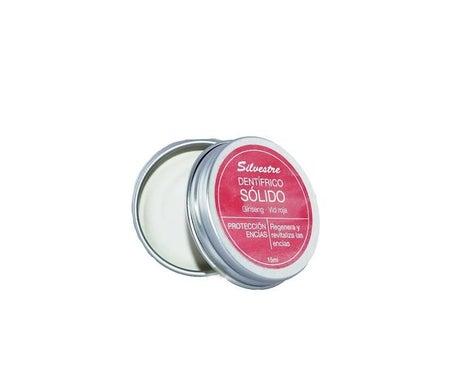 Silvestre Dentrífico Sólido Vid/Ginseng 15ml