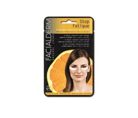 Facialderm Eye Pads Stop Fatigue 6 patches