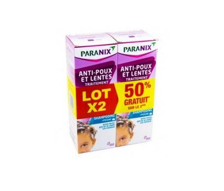 Champú antipiojos Paranix Set de 2 + 2 peines