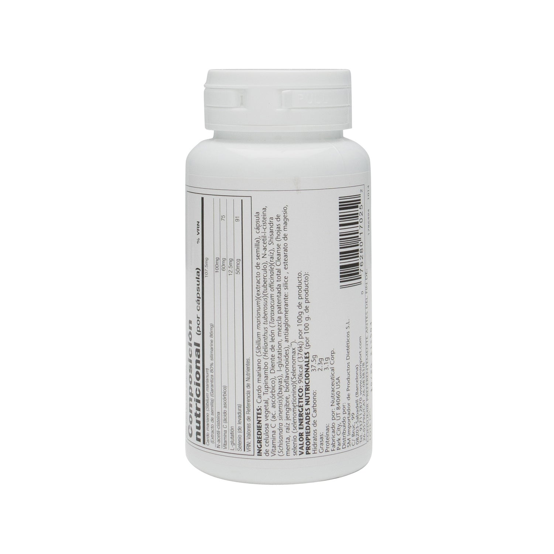Solaray Total Cleanse Liver 60c 225 Ps Promofarma